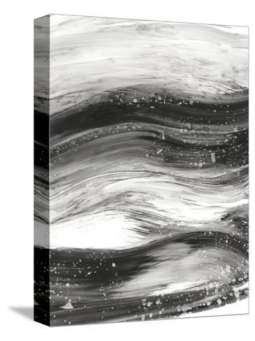 Black Waves II-Ethan Harper-Stretched Canvas Print