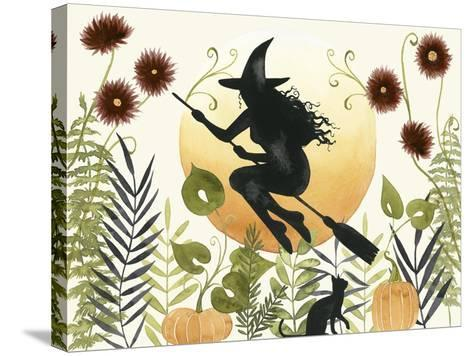 The Witch's Garden I-Grace Popp-Stretched Canvas Print