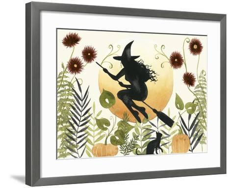 The Witch's Garden I-Grace Popp-Framed Art Print