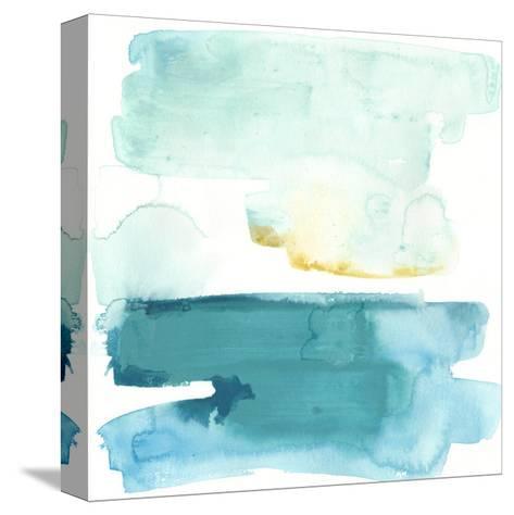 Liquid Shoreline VII-June Vess-Stretched Canvas Print
