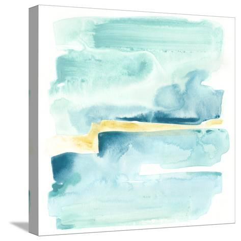 Liquid Shoreline IV-June Vess-Stretched Canvas Print