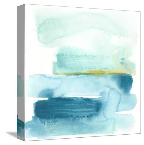 Liquid Shoreline I-June Vess-Stretched Canvas Print