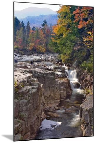 Rocky Creek Gorge, White Mountains, New Hampshire-George Oze-Mounted Photographic Print