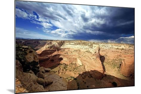 Ominous Sky, Canyon De Chelly, Arizona-George Oze-Mounted Photographic Print