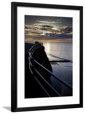 Kent coast-Charles Bowman-Framed Art Print