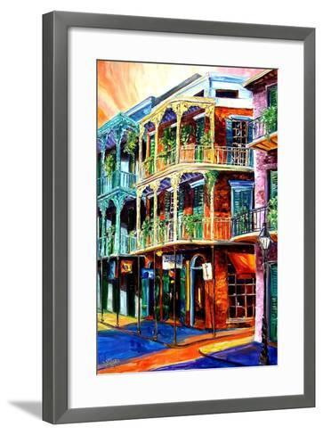 Early Morning on Royal Street-Diane Millsap-Framed Art Print