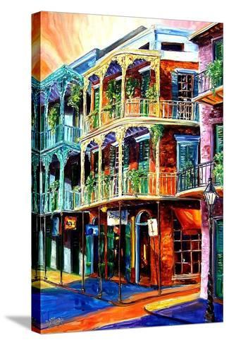 Early Morning on Royal Street-Diane Millsap-Stretched Canvas Print