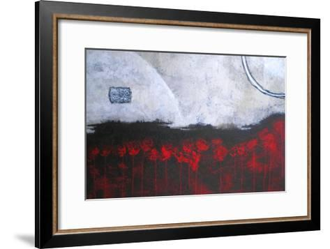Scarlet Creation-Herb Dickinson-Framed Art Print