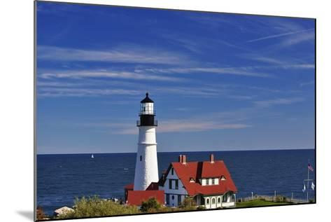 Portland Head Lighthouse Cape Elizabeth Maine-George Oze-Mounted Photographic Print