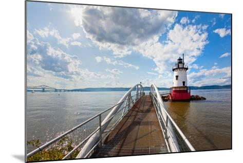 Hudson River Scenic, Tarrytown, New York-George Oze-Mounted Photographic Print