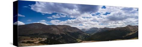 Independence Pass Colorado-Steve Gadomski-Stretched Canvas Print