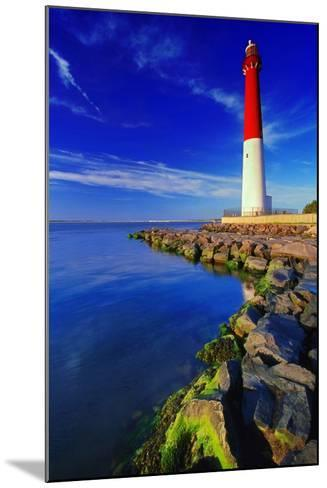 Barnegat Lighthouse, New Jersey-George Oze-Mounted Photographic Print
