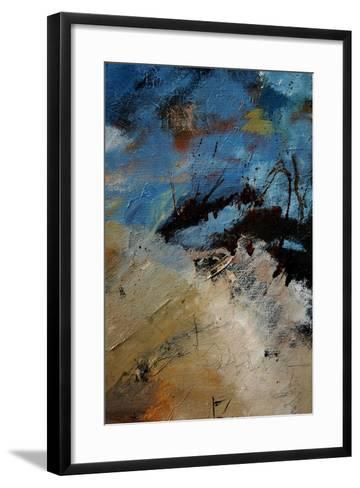 Abstract 12071-Pol Ledent-Framed Art Print