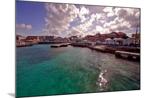 Georgetown Harbor Early Morning Cayman Islands-George Oze-Mounted Photographic Print