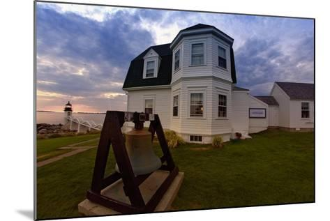 The Lighthouse of Marshall Point Maine-George Oze-Mounted Photographic Print