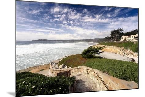 Coastal View, Carmel,California-George Oze-Mounted Photographic Print
