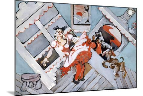 Old Mother Hubbard-Zelda Fitzgerald-Mounted Art Print