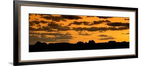 Desert Sky Panorama-Steve Gadomski-Framed Art Print