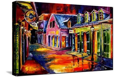 Toulouse Street by Night-Diane Millsap-Stretched Canvas Print