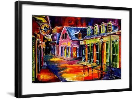 Toulouse Street by Night-Diane Millsap-Framed Art Print