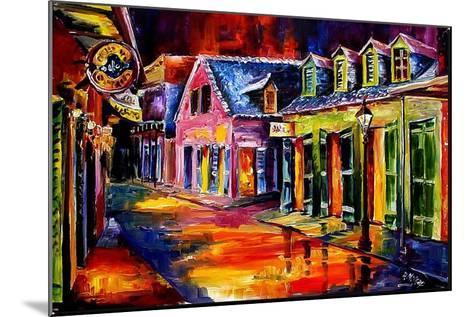 Toulouse Street by Night-Diane Millsap-Mounted Art Print