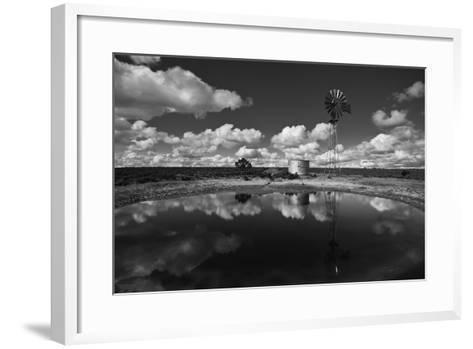 Ranch Pond, New Mexico-Steve Gadomski-Framed Art Print