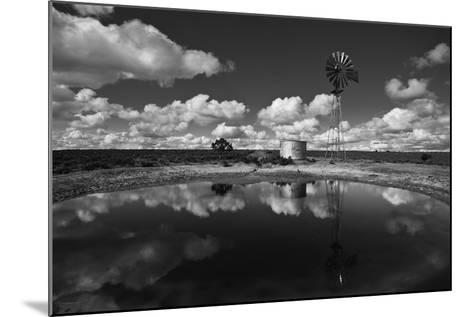 Ranch Pond, New Mexico-Steve Gadomski-Mounted Photographic Print