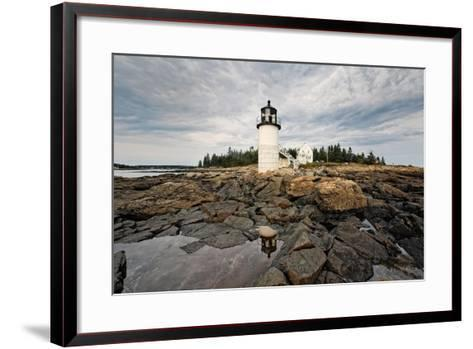 Lighthouse View, Port Clyde, Maine-George Oze-Framed Art Print