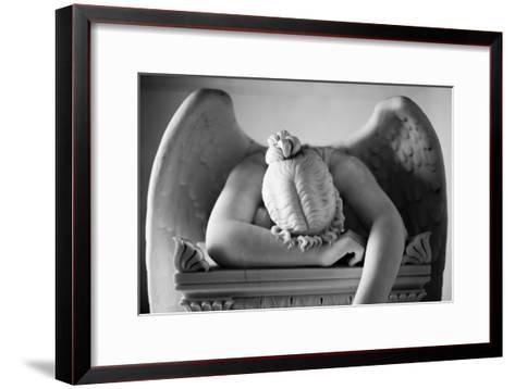 Weeping Angel 2-John Gusky-Framed Art Print