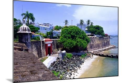 Gate of the City, Old San Juan, Puerto Rico-George Oze-Mounted Photographic Print