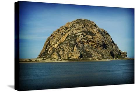 Morro Rock-John Gusky-Stretched Canvas Print