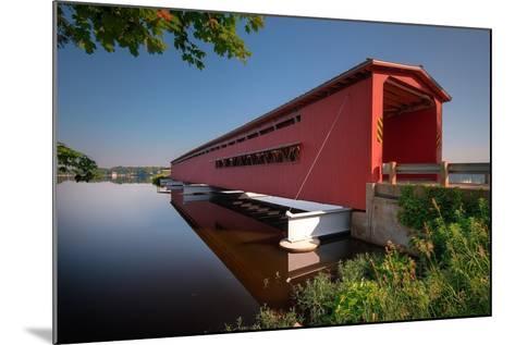 Langley Covered Bridge, Michigan-Steve Gadomski-Mounted Photographic Print