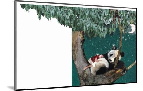 Panda And Child-Nancy Tillman-Mounted Art Print