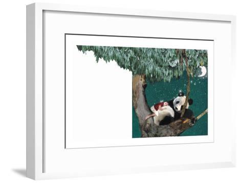 Panda And Child-Nancy Tillman-Framed Art Print