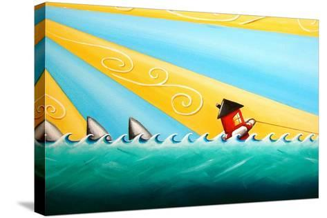 The Rescue-Cindy Thornton-Stretched Canvas Print