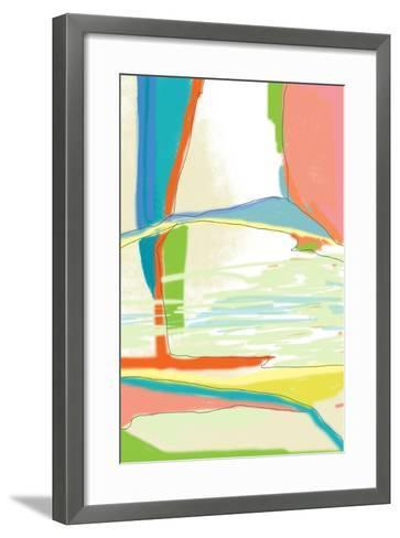 Deconstructed Landscape 3-Jan Weiss-Framed Art Print