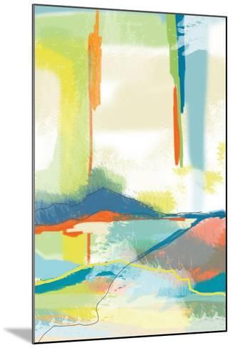 Deconstructed Landscape 4-Jan Weiss-Mounted Art Print