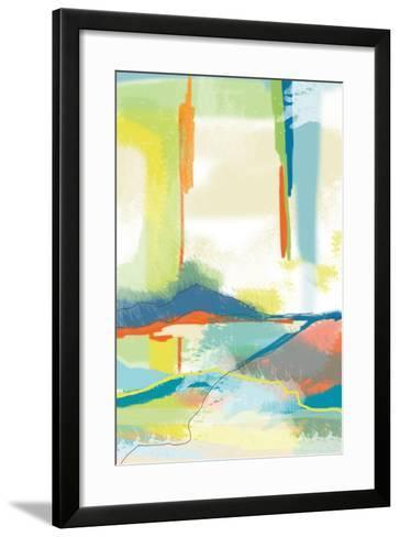 Deconstructed Landscape 4-Jan Weiss-Framed Art Print