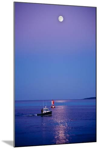 Ocean Moonrise-Steve Gadomski-Mounted Photographic Print