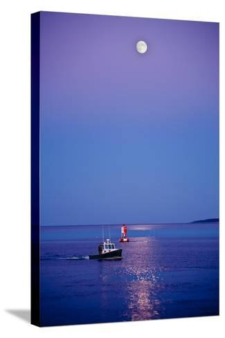 Ocean Moonrise-Steve Gadomski-Stretched Canvas Print
