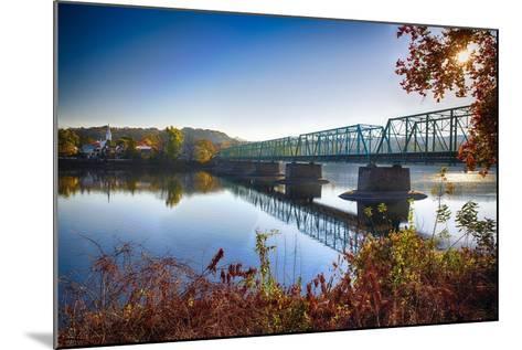 Delaware River Bridge-George Oze-Mounted Photographic Print