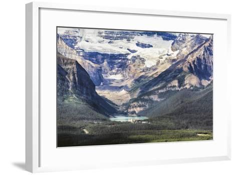 Lake Louise Scenic, Alberta, Canada-George Oze-Framed Art Print