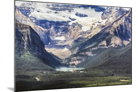 Lake Louise Scenic, Alberta, Canada-George Oze-Mounted Photographic Print