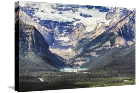 Lake Louise Scenic, Alberta, Canada-George Oze-Stretched Canvas Print