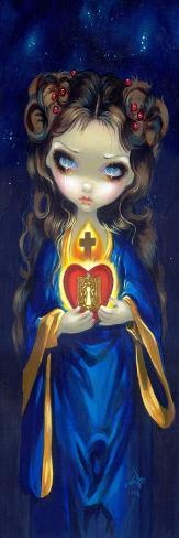 Occulta Cordis-Jasmine Becket-Griffith-Stretched Canvas Print