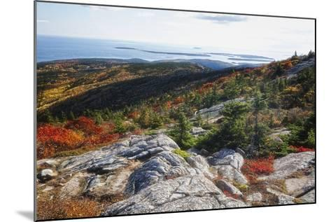 Best View from the Cadillac Mountain-George Oze-Mounted Photographic Print
