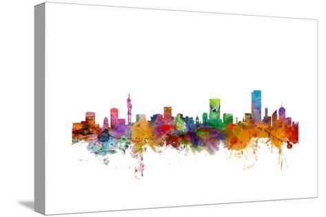 Pretoria South Africa Skyline-Michael Tompsett-Stretched Canvas Print