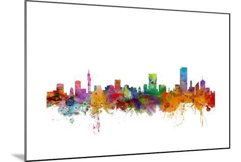 Pretoria South Africa Skyline-Michael Tompsett-Mounted Art Print