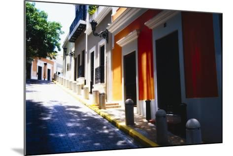 Calle Del Sol, Old San Juan; Puerto Rico-George Oze-Mounted Photographic Print