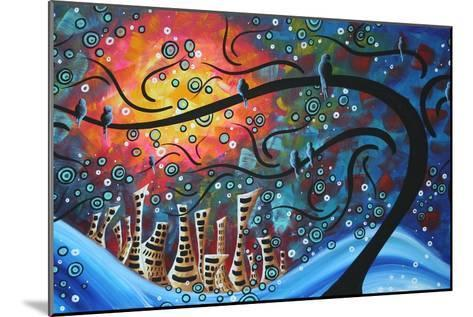 City By The Sea-Megan Aroon Duncanson-Mounted Art Print